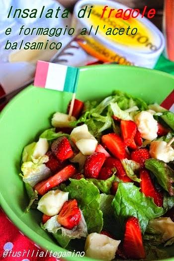 Le fragole nell'insalata