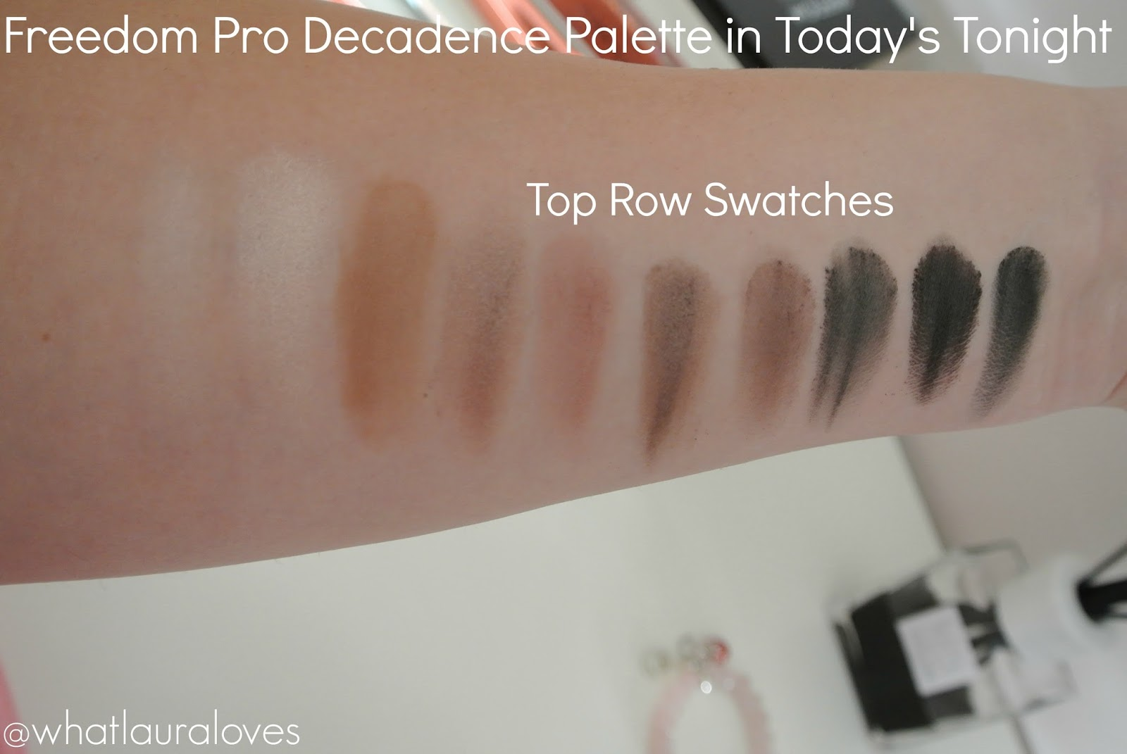 BEAUTY CROWD Freedom Pro Decadence Palette Todays Tonight Review