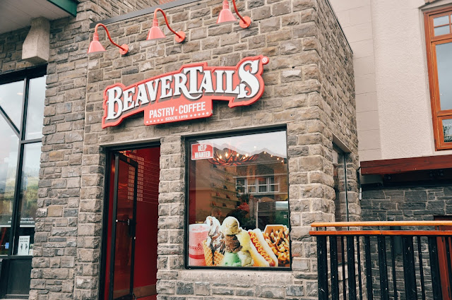 BeaverTails Pastry, Banff, Alberta, Canada