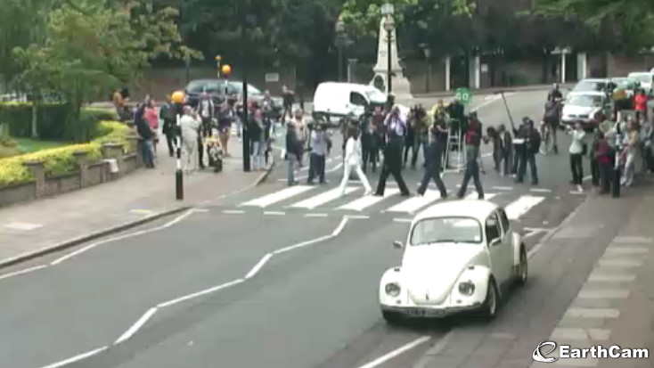 the daily beatle abbey road reshoot