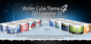 Winter Cube 4 GO Launcher Ex v1.0 apk