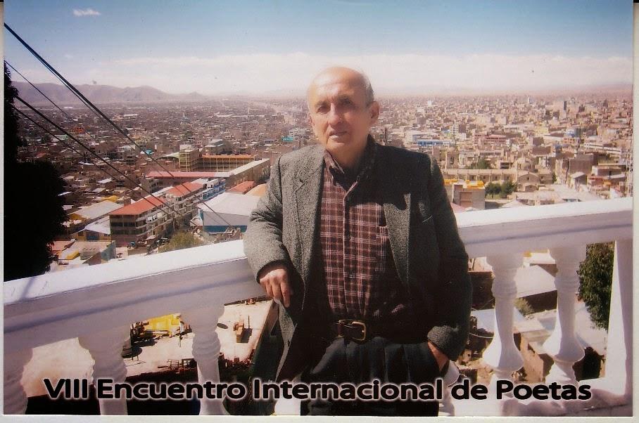Exitoso Congreso Poetas Juliaca Humberto Pinedo Mendoza