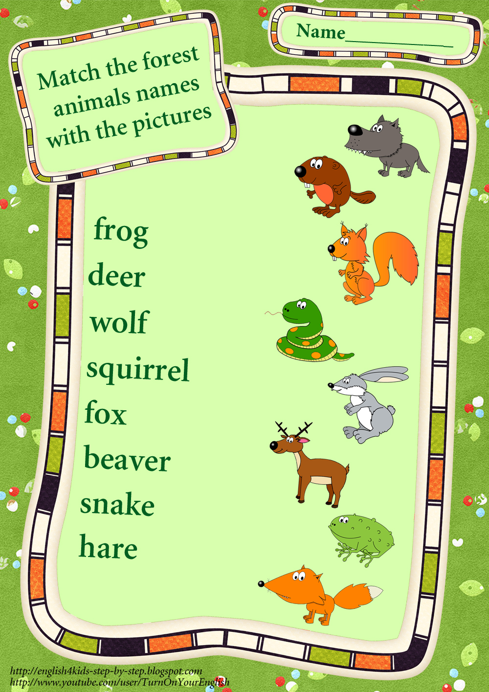 Animal Sound Matching Animals Worksheets For Kids Printable Worksheet besides Forest Animals Match Words And Pictures Worksheet together with Forest Animals Home Plural Worksheet in addition Forest Animals Making Negative Sentences Worksheet together with Lesson For Kids Worksheet Animals Worksheets Nocturnal Quiz X. on wild animals worksheet making worksheets for kids forest negative sentences
