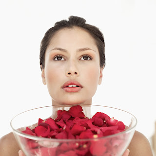 Las Rosas en la Belleza