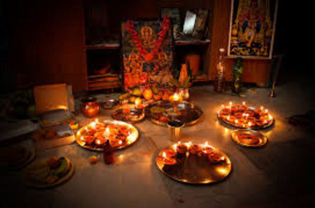 Happy Deepawali Tyohar ki Poojan Vidhi or Mahattav