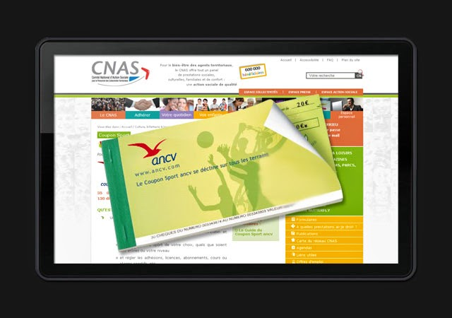Convention coupons sport ancv