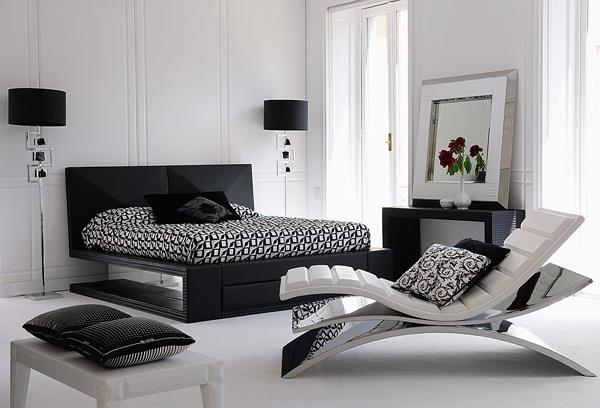 Black White and Gray Bedroom Decor