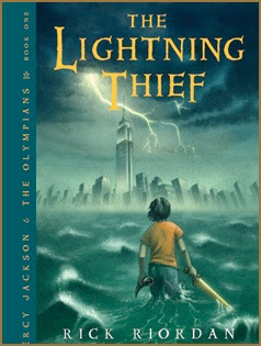 bookcover of The Lightning Thief by Riordan