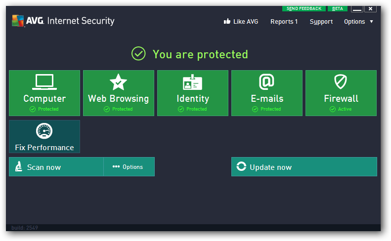 AVG Internet Security 2013 (x64 bit) 2013.3532 full