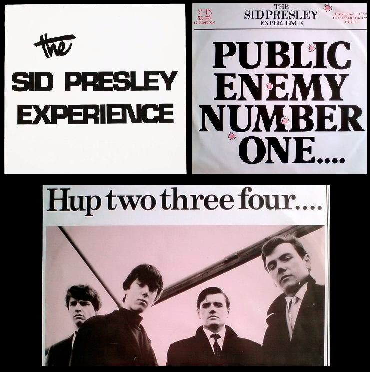THE SID PRESLEY EXPERIENCE - Hup, two, three, four (1984)