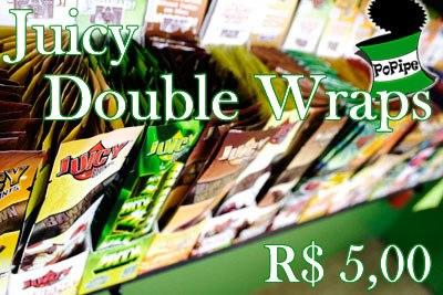 Juicy Double Wraps por R$5,00