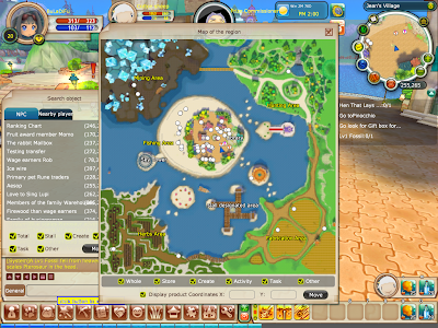 FairyLand 2 Online - Jean's Village Map