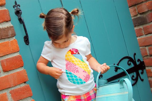 Osterei-T-Shirt - Nähen für Ostern (icandyhandmade.blogspot.de)