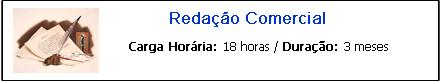 REDAÇÃO COMERCIAL