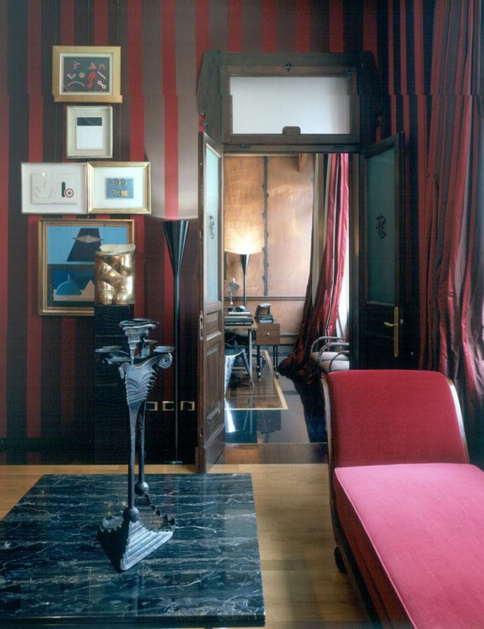 Ferre's interiors at Via Pontaccio