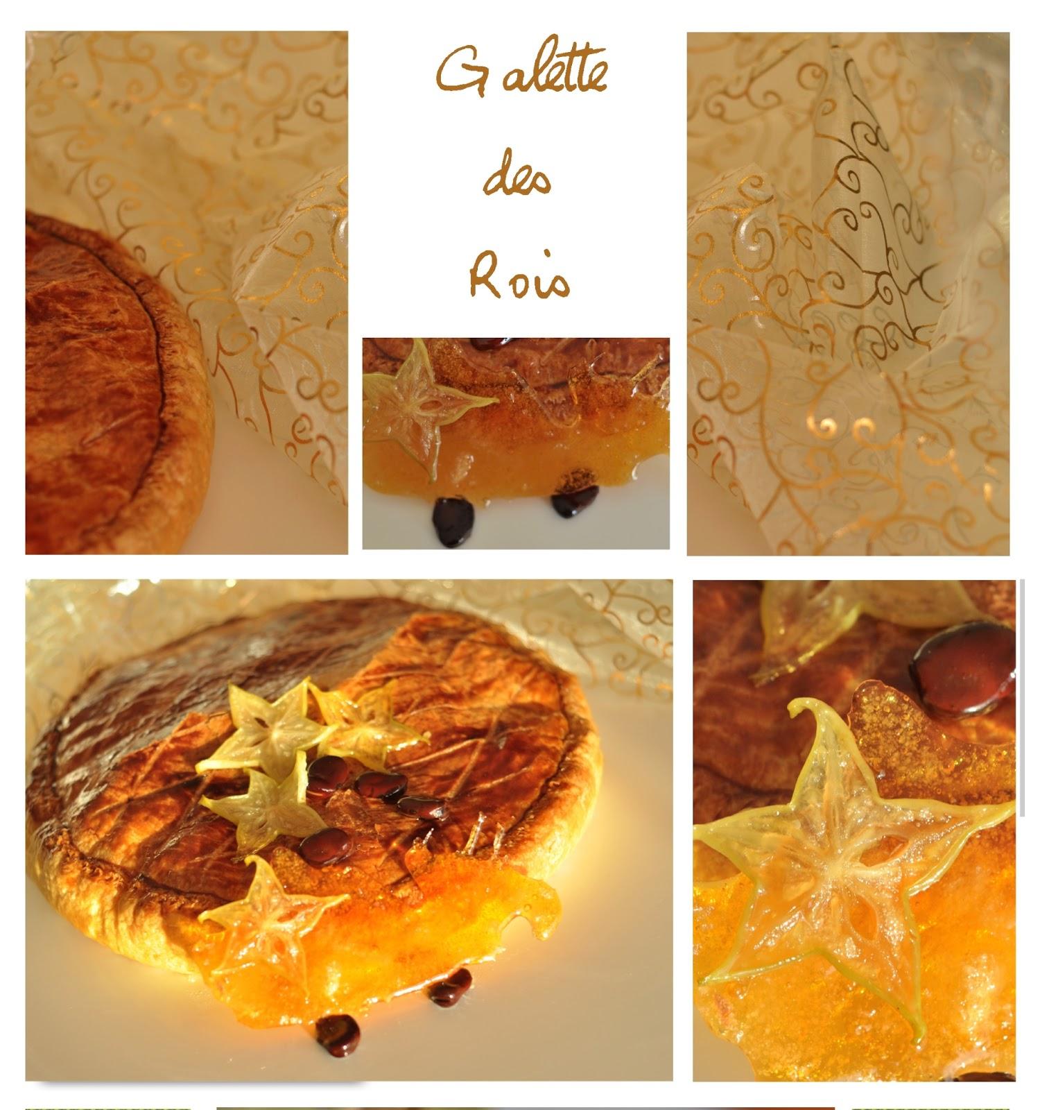 tarte garnie d'une crème d'amande et d'une crème pâtissière