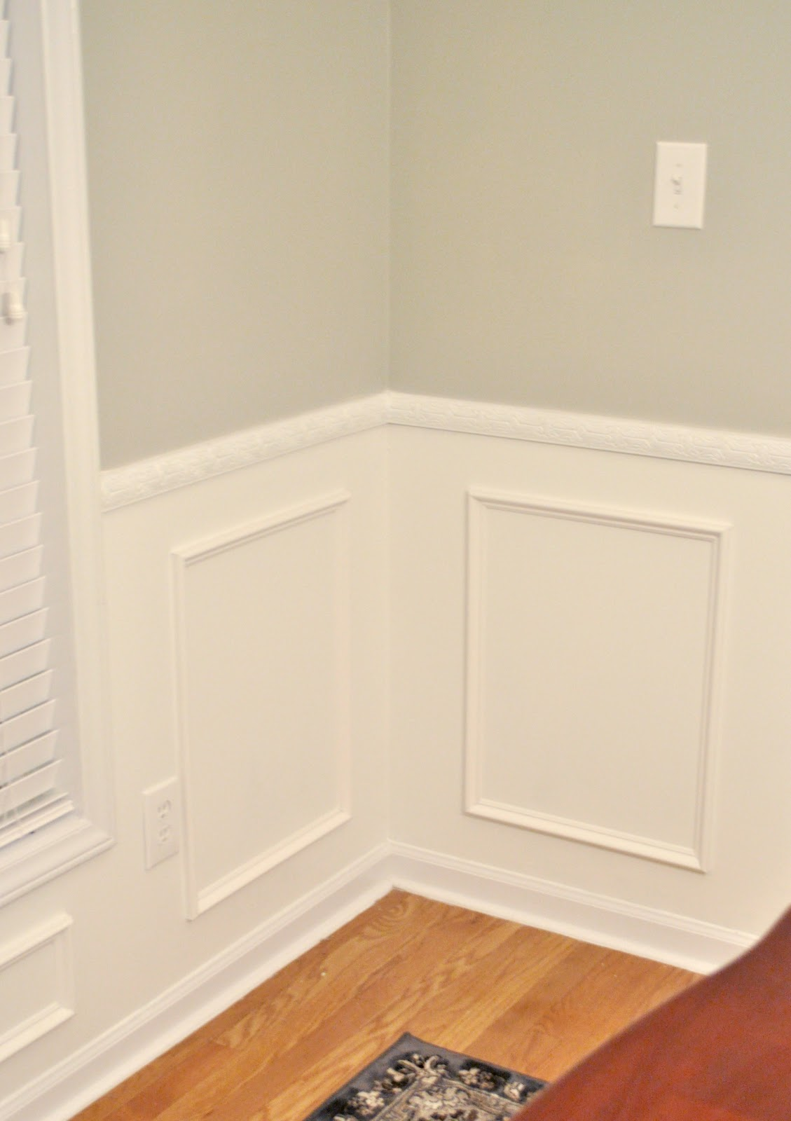 diy wainscoting. template for trim great tip on how to get the ...