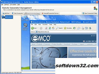 EMCO Remote Screenshot v2.5.12.125