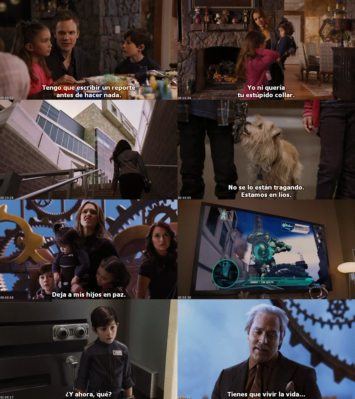Spy Kids 4: Los Ladrones del Tiempo (2011) [DVDRip] [Sub. Español]