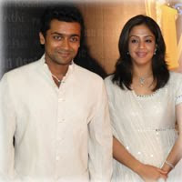 Jyothika and Surya Stills