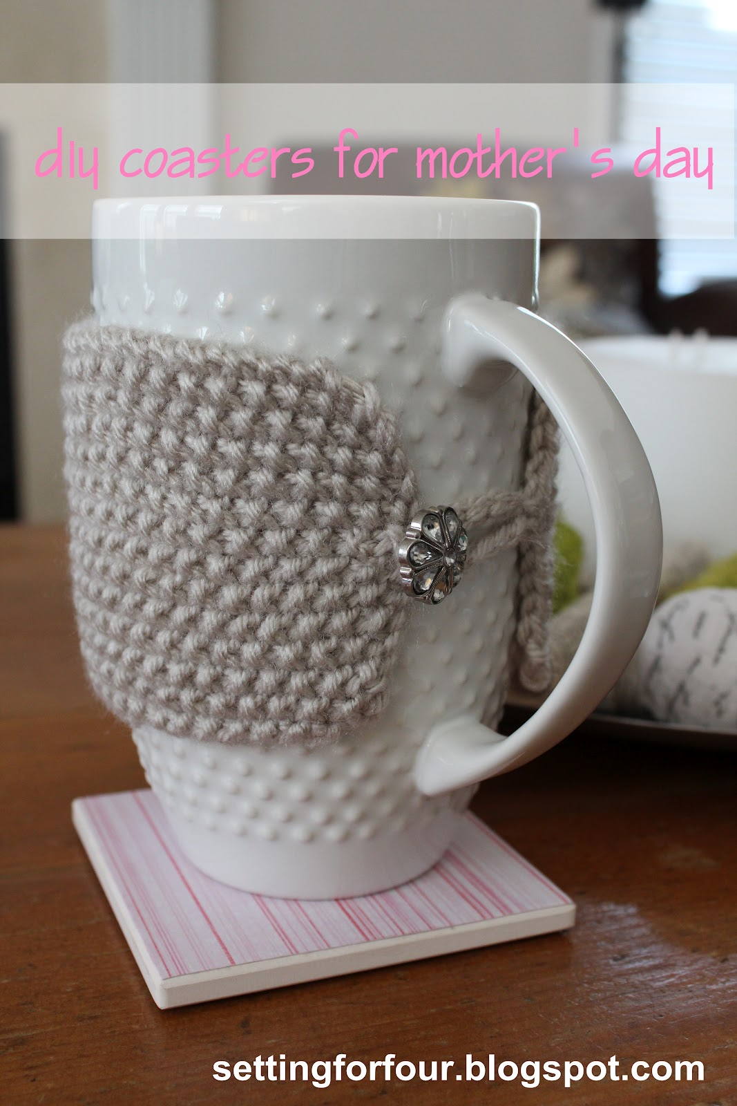 How To Make Easy Mod Podge Gift Diy Coasters Setting For