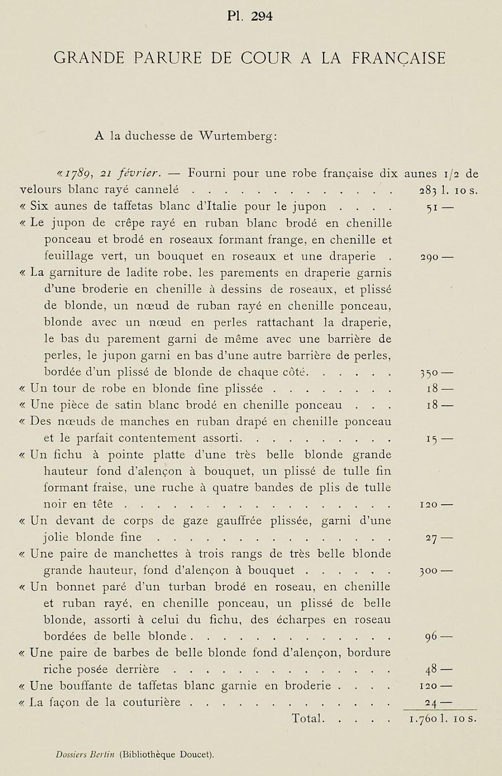 Fabuleux Galerie des Modes, 2e Cahier de Grandes Robes d'Etiquette, 5e Figure #ST_34