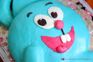 торт смешарики из мастики пошаговый рецепт с фото