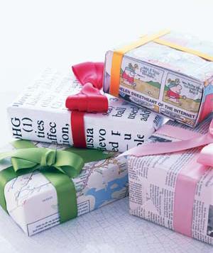 Ekološko zavijanje daril