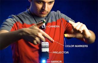 MIT Develop 6th Sense Hand Gesture Gadget