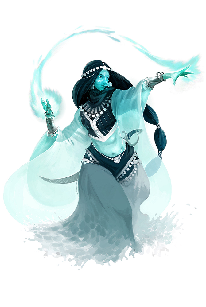 Marid Genie