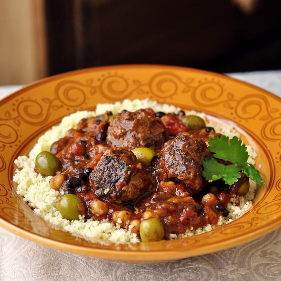 Moroccan Meatball Stew