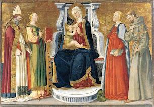 Saint Catherine of Alexandria, Part IV -- In the Sacra Conversazione
