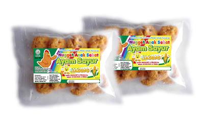 Nugget Ayam Sayur Jagung - Anak Sehat Foods