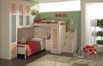 habitación loft niños