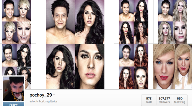 Paolo Ballesteros Make Up Transformations Photos Complete Collection