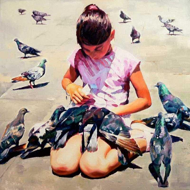 Alexey Slusar 1961 - Ukrainian painter