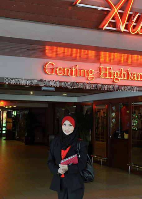 testimonial adibah dlm seminar ddm di awana genting highlands dalam bisnes premium beautiful