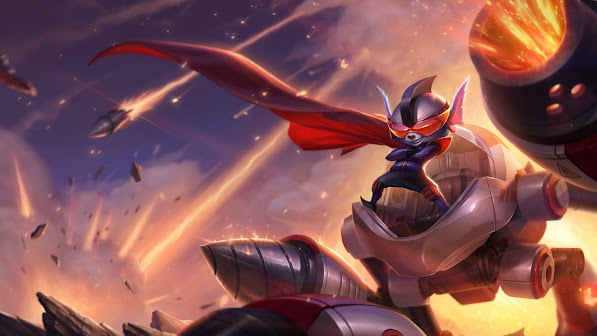 super galaxy rumble skin splash art league of legends