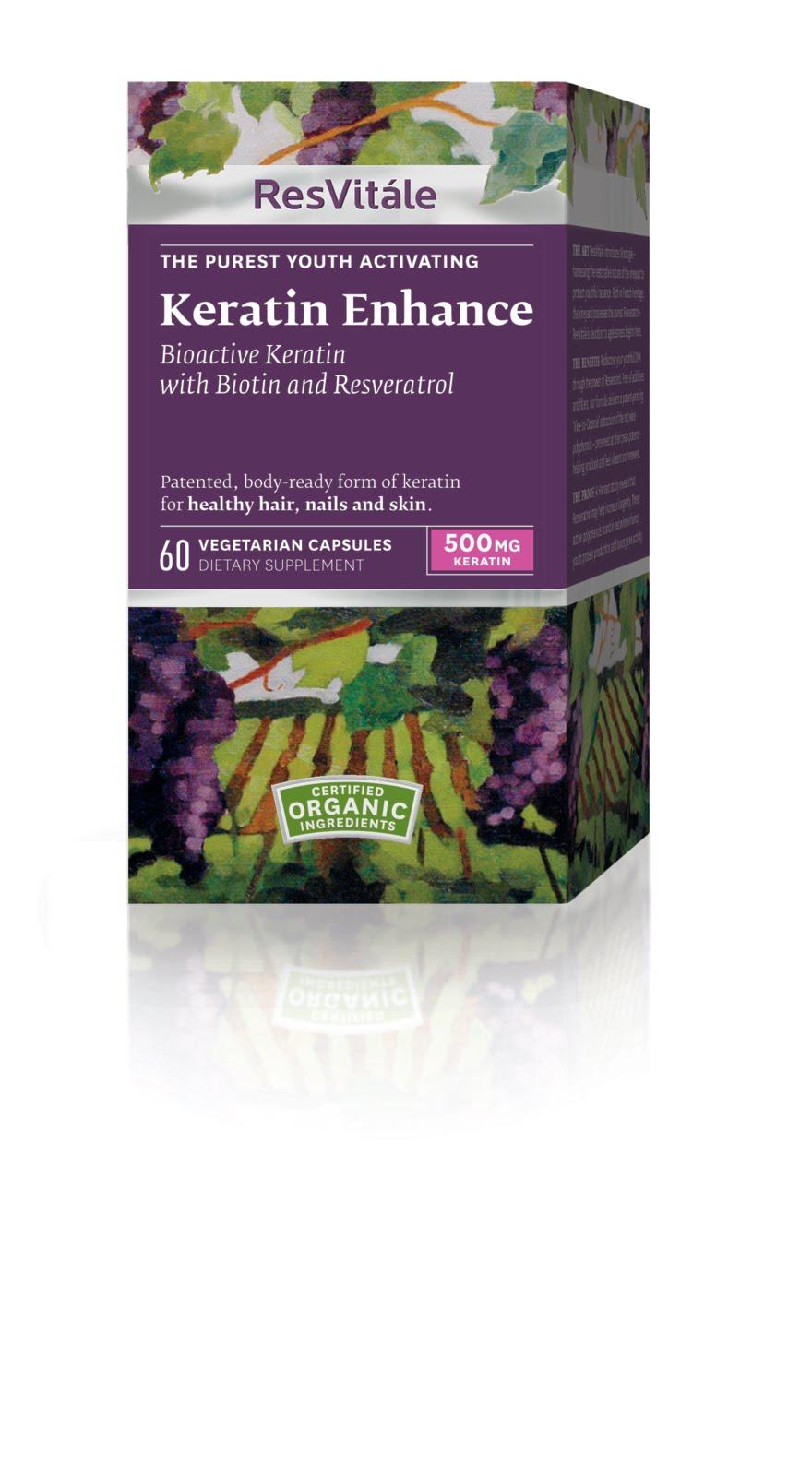 Chic Mummy: Product Review: ResVitale Keratin Enhance