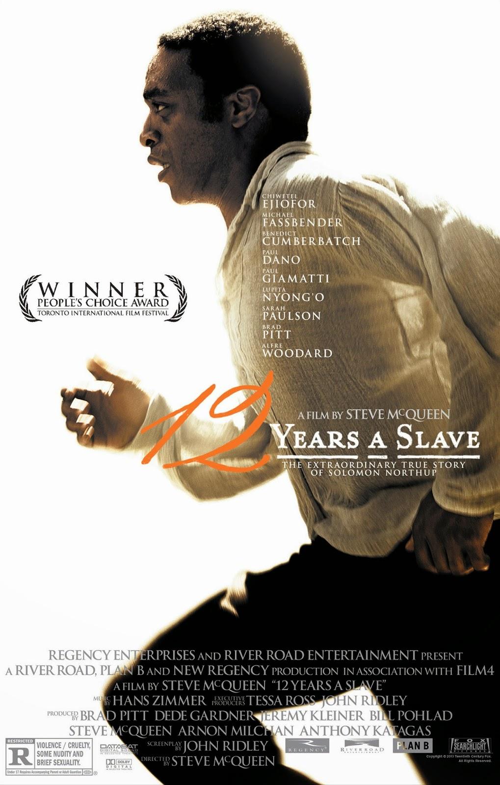cartaz filme 12 anos de escravidão (twelve years a slave, 2013)