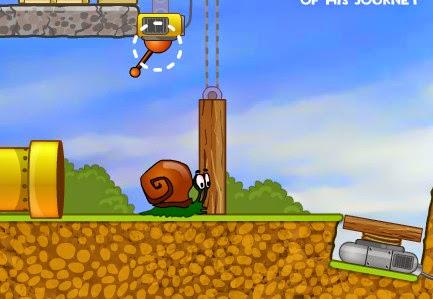 لعبة بوب الحلزون Snail bob