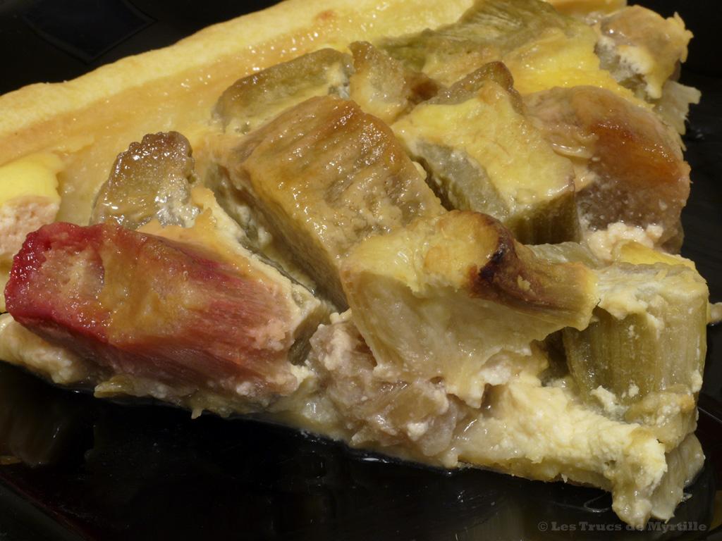 La cuisine de myrtille tarte alsacienne la rhubarbe - Quand recolter la rhubarbe ...