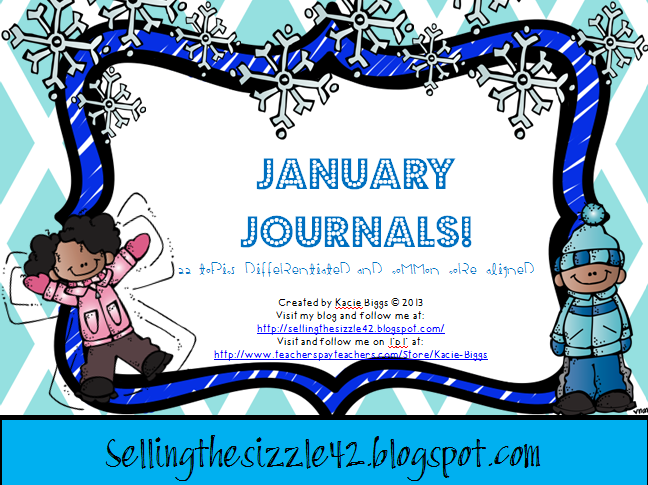 http://www.teacherspayteachers.com/Product/January-Journals-22-Differentiated-and-Common-Core-Aligned-Topics-for-January-1040801