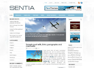WordPress-Template Sentia