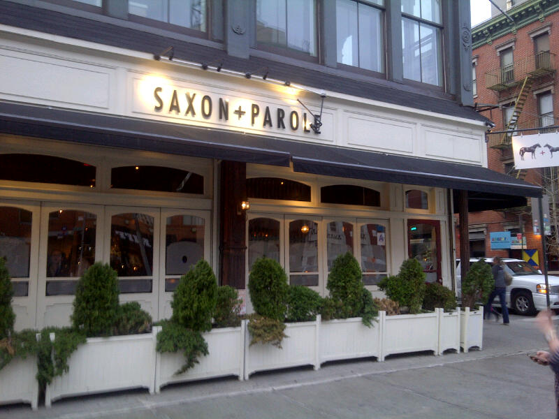 Saxon And Parole Happy Hour