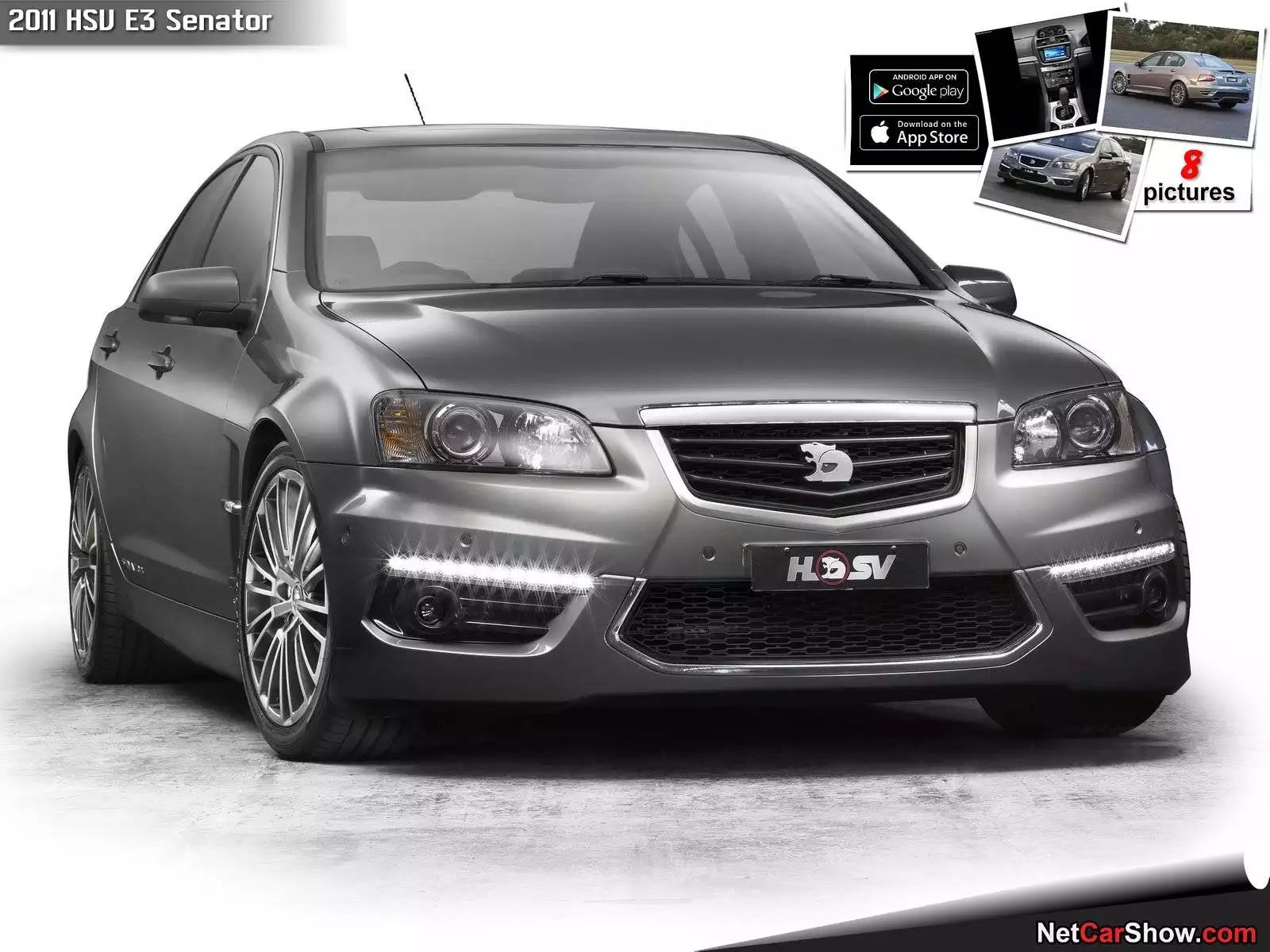 Hình ảnh xe ô tô HSV E3 Senator 2011 & nội ngoại thất