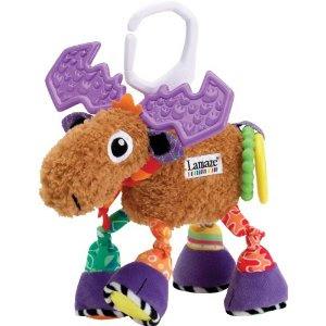 Pre-kindergarten toys - Lamaze Plush Activity Toy, Mortimer The Moose (LC27014)