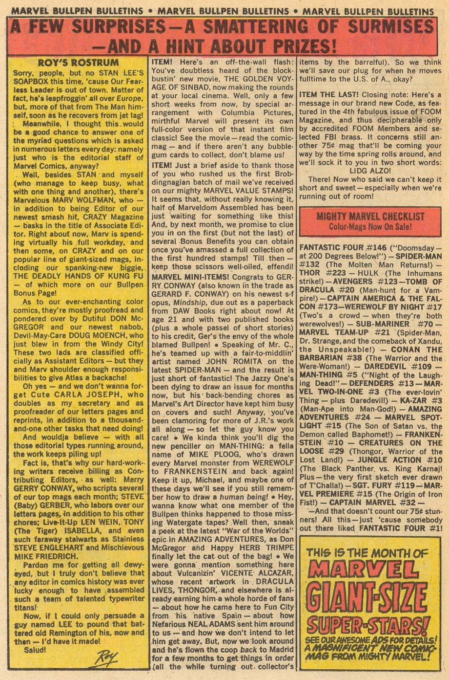 Conan the Barbarian (1970) Issue #38 #50 - English 15