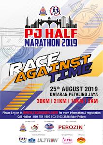 PJ Half Marathon 2019 - 25 August 2019