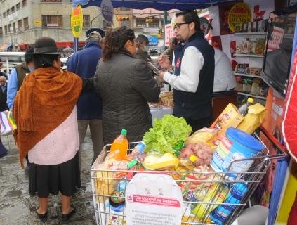 Consumidores en Bolivia